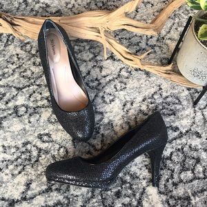 ✨Black Glitter Nikolet Evening Pumps/ Heels